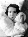 Colleen Moore on a Furry Cloth Coat Portrait