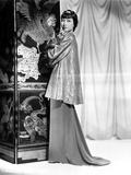 Anna Wong wearing a Long Glittering Tunic