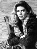 Kelly McGillis wearing Furry Coat Portrait