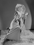 Gloria Swanson Side View in Classic Portrait