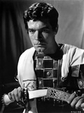 Stephen Boyd Looking Serious in Black and White