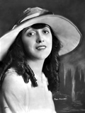 Mabel Normand on a Hat and Slightly smiling