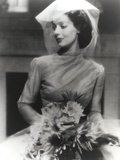 Loretta Young Bridal Photography with Flower