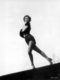 Eleanor Powell on a Midriff and standing
