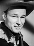 Roy Rogers smiling in Headshot Portrait