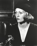 Faye Dunaway in Black Top and Black Hat