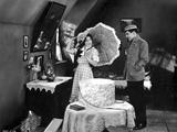 Norma Shearer Couple Talking in Classic