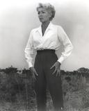 Lana Turner in White Long Sleeve Portrait