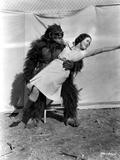 Maureen O'Sullivan Carried by a Gorilla