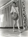 Ann Miller Walking in Classic Portrait