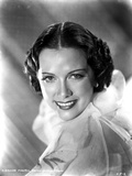 Eleanor Powell Portrait in Ruffled Top