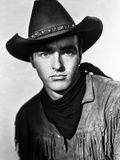 Montgomery Clift Portrait in Cowboy Outfit