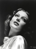 Loretta Young Heads Up Curly Blonde Hair