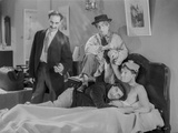 Marx Brothers sitting in Classic Portrait