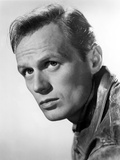 Richard Widmark Posed in Leather Jacket