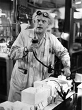 Christopher Lloyd in Lab Gown Portrait