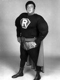 Rodney Dangerfield Posed in Robin Outfit