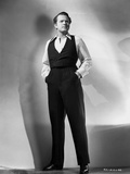 Orson Welles standing Posed in Classic