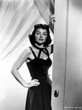 Donna Reed on a Dress with Hand on Waist
