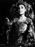 Portrait of Lena Horne in Black and White