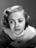 Martha Vickers Portrait in Black and White