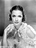 Eleanor Powell on a Ruffled Top Portrait