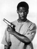 Eddie Murphy Posed in Shirt With Pistol