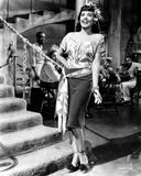 Lena Horne in Black and White Portrait