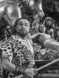 Ten Commandments a Man in Leopard Jacket