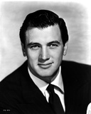 Rock Hudson Posed in Black Suite Portrait