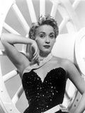 Jane Powell on a Sequin Dress and Leaning