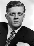 Pat Hingle in Tuxedo With White Background