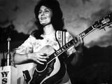 Loretta Lynn Playing Guitar in Classic
