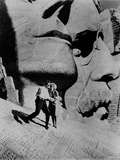 North By Northwest Movie at Mount Rushmore