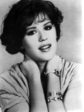 Molly Ringwald Portrait in Black and White