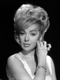 Edie Adams Portrait in Black and White