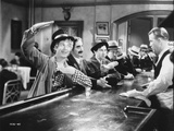 Marx Brothers in Movie Scene at the Bar