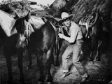 Roy Rogers in Cowboy Outfit with Horses