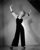 Vera Ellen posed with Arms on Air Portrait