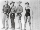 Rio Bravo Group Picture in Black and White