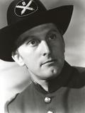 Kirk Douglas as Police Officer Portrait