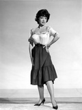 Anne Baxter standing and Hand on Waist