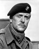 Michael Caine in Military Attire With Hat