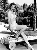 Virginia Mayo Leaning in Classic Portrait