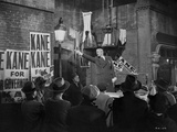 Citizen Kane Man in Black Suit with Cast