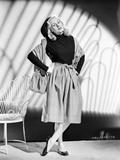Virginia Mayo standing in Classic Portrait