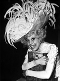 Carol Channing wearing a Feathered Hat