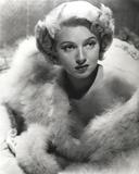 Lana Turner wearing Furry Coat Portrait