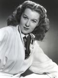 Rhonda Fleming wearing a Veil Portrait