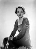 Mary Astor wearing Ruffled Sleeve Dress
